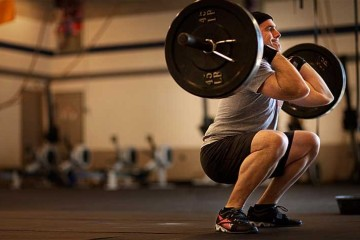 crossfit-thrusters