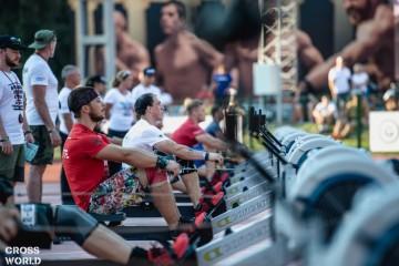 гребной тренажер какие мышцы работают