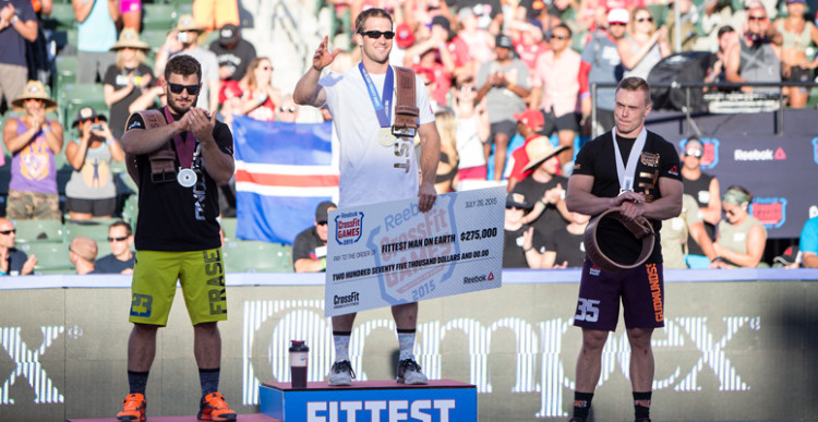 Crossfit Games 2015 Ben Smith