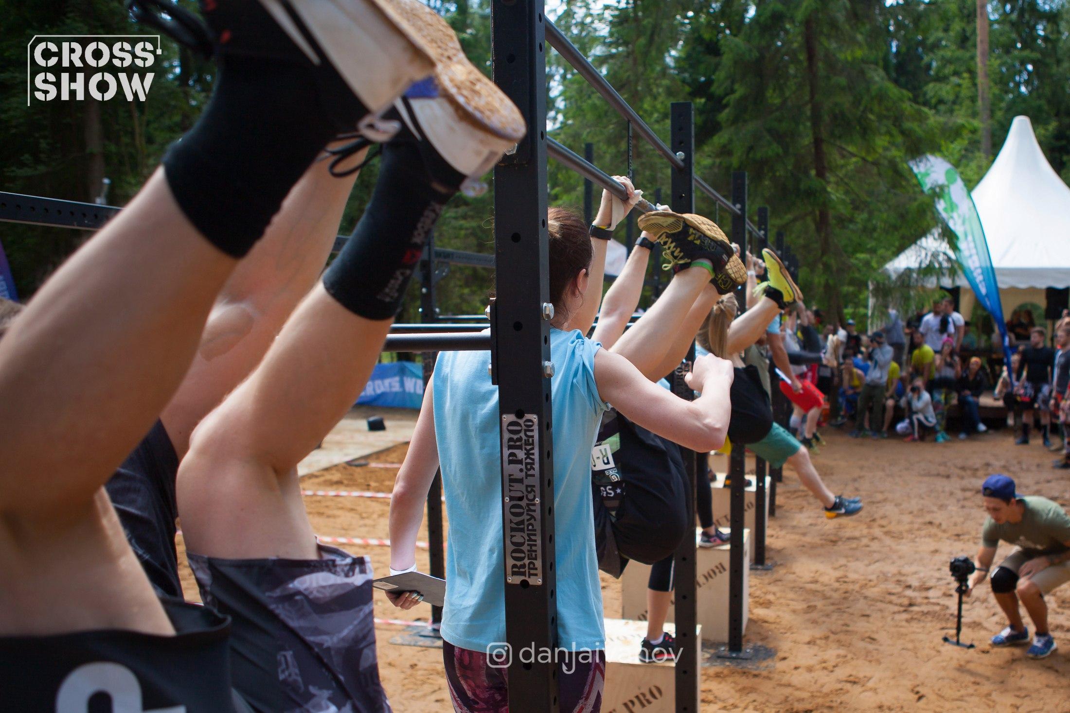 гимнастика в CrossFit