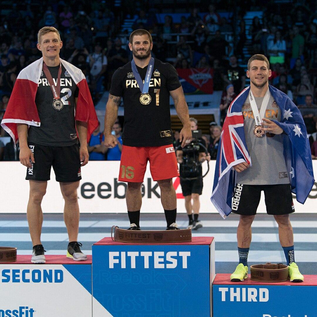 Результаты Reebok CrossFit Games 2017